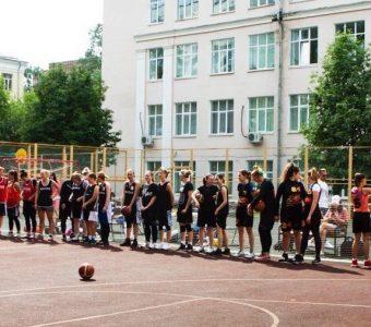 Женский баскетбол. Открытая тренировка и турнир «штрафных» бросков